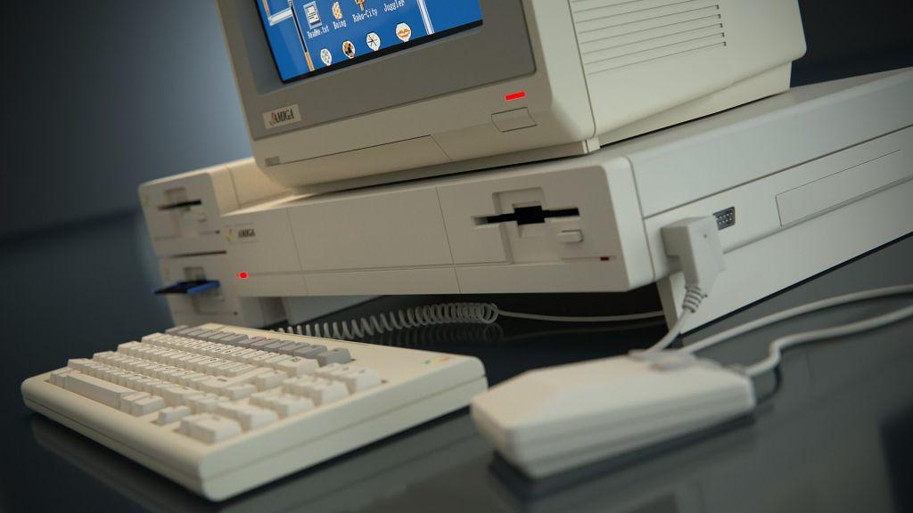 Amiga 1000 Render (Thomas Koch)