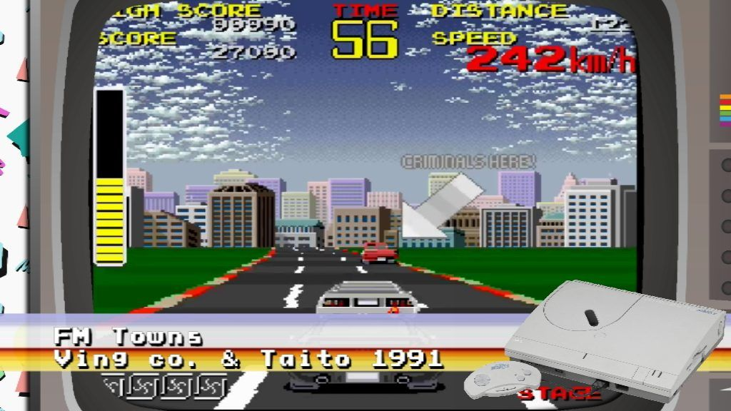 Chase HQ PC Engine