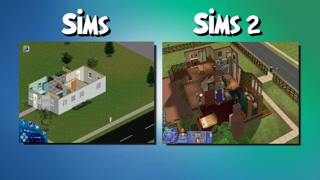 Sims vs Sims 2