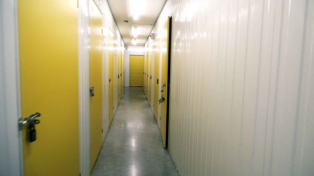 The Liminal space of a storage company corridor