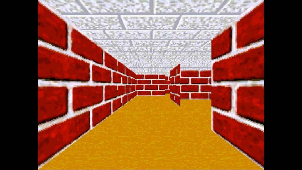 The bleak corridors of a Windows 3D Maze