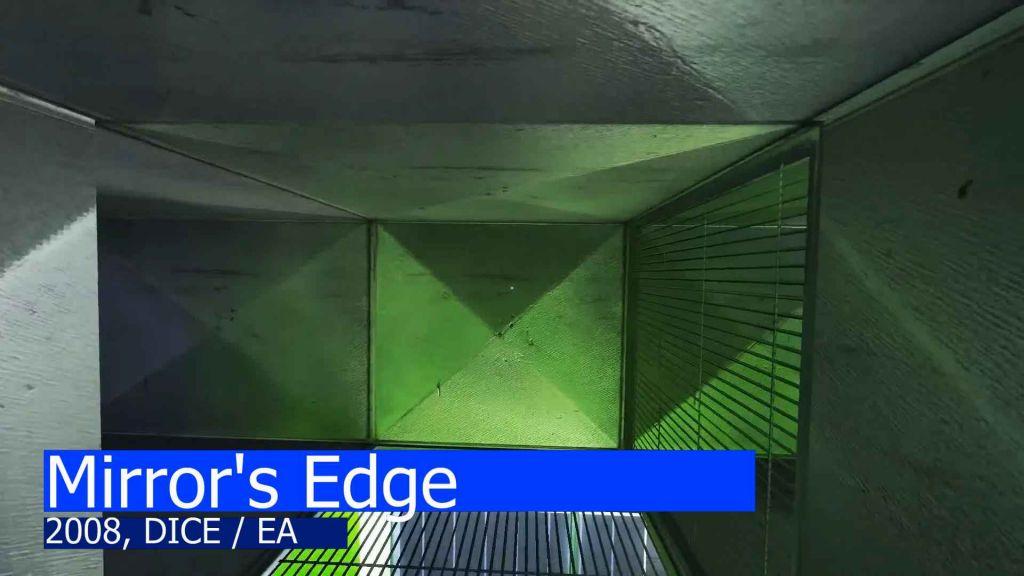 An air duct in Mirror's Edge