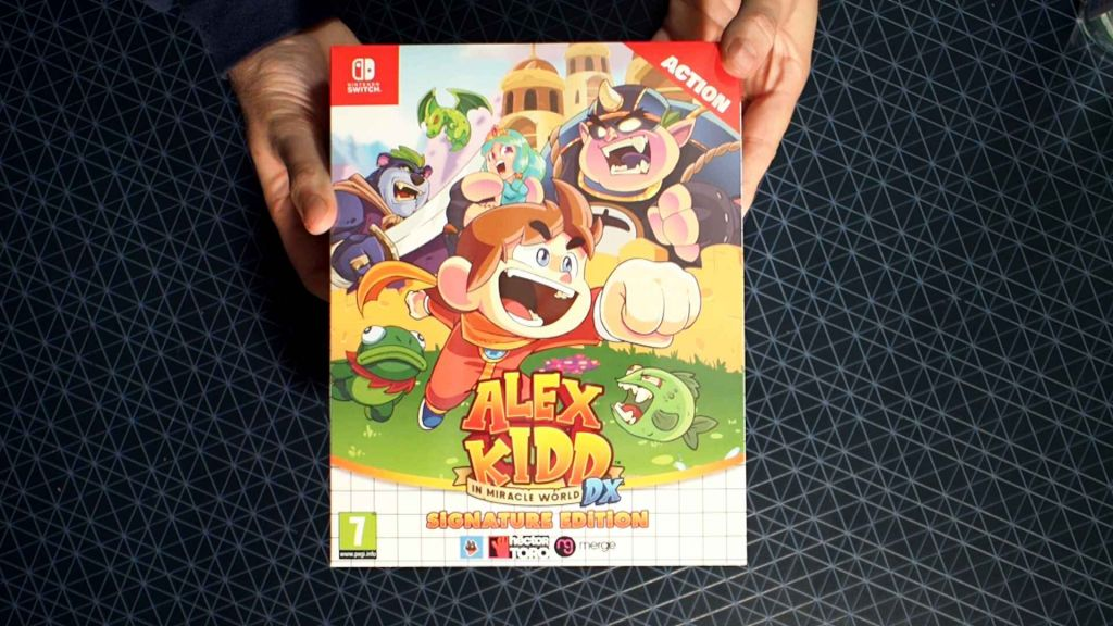 Signature Edition of Alex Kidd in Miracle World DX
