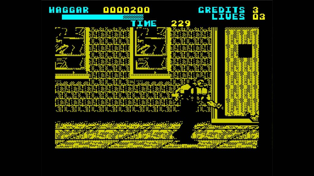 Haggar, Final Fight on the ZX Spectrum in low colour glory
