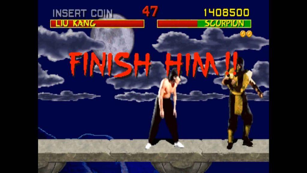 Mortal Kombat, arcade... FINISH HIM