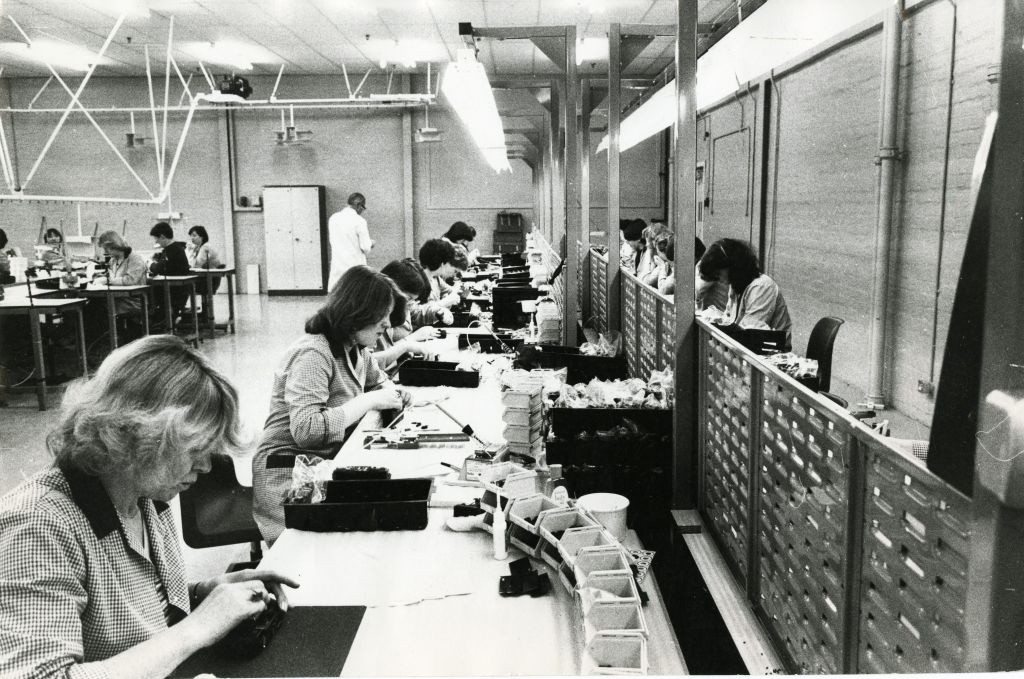 The Dundee Timex Factory