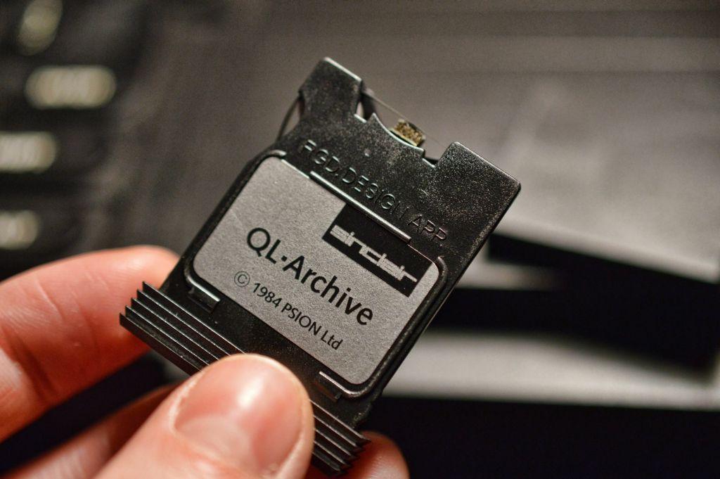 Sinclair QL Microdrive Wafer