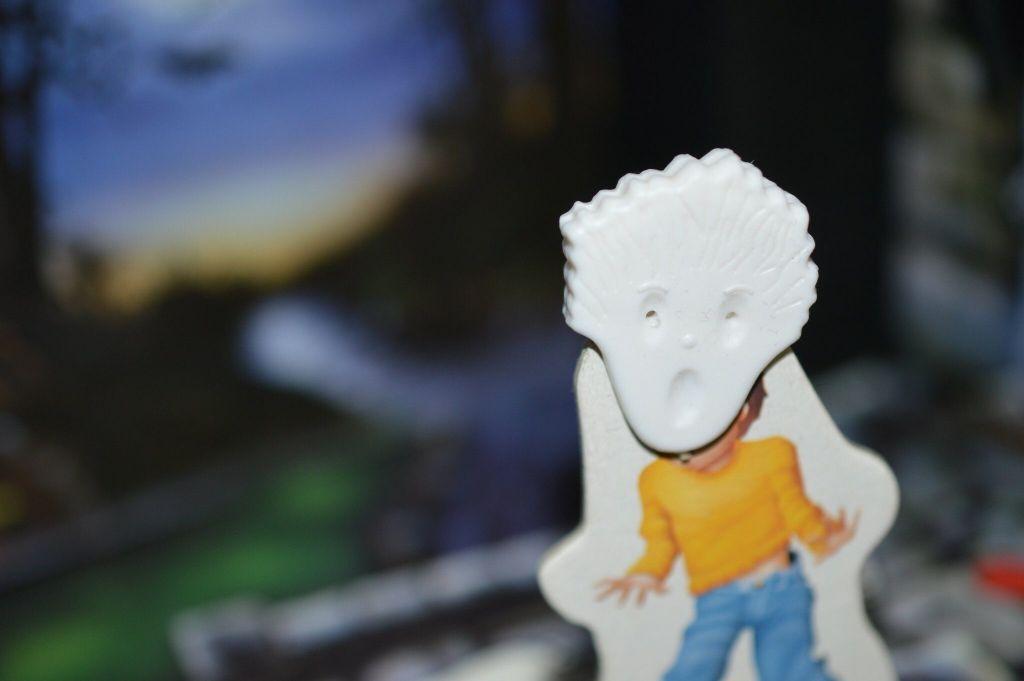 Ghost Child Scared Stiff