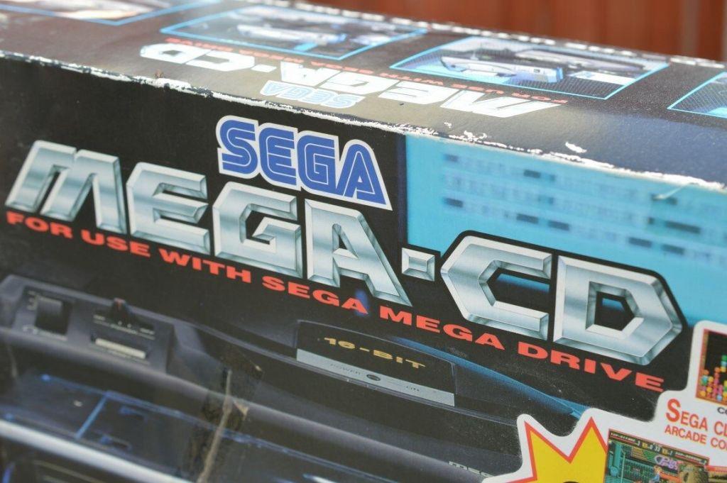 Sega Mega CD Box