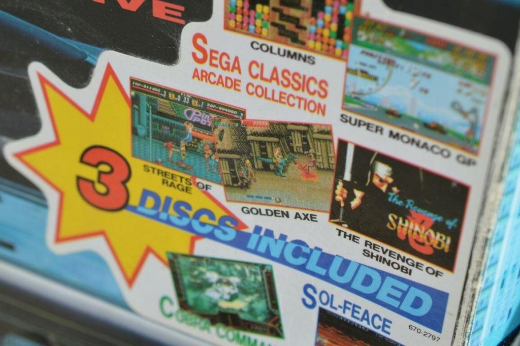 Mega CD Games Box