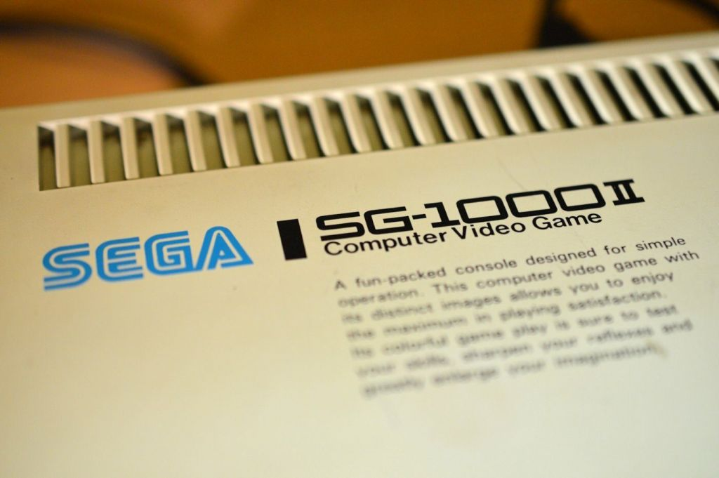 Sega SG-1000 II Case