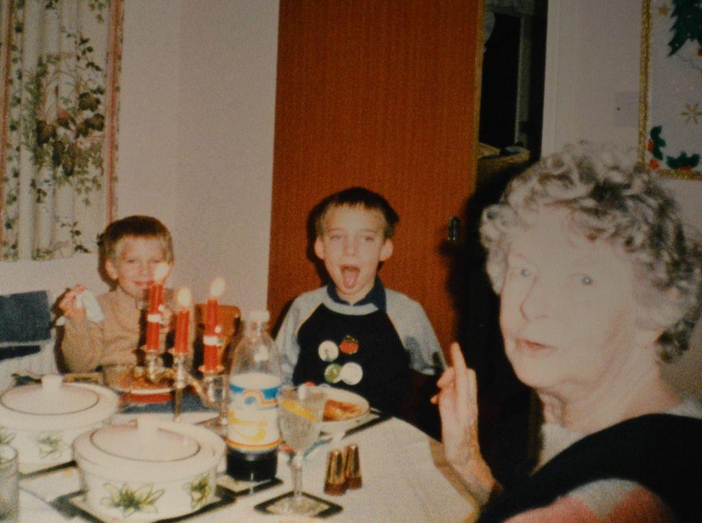 Christmas Dinner in the 1980s