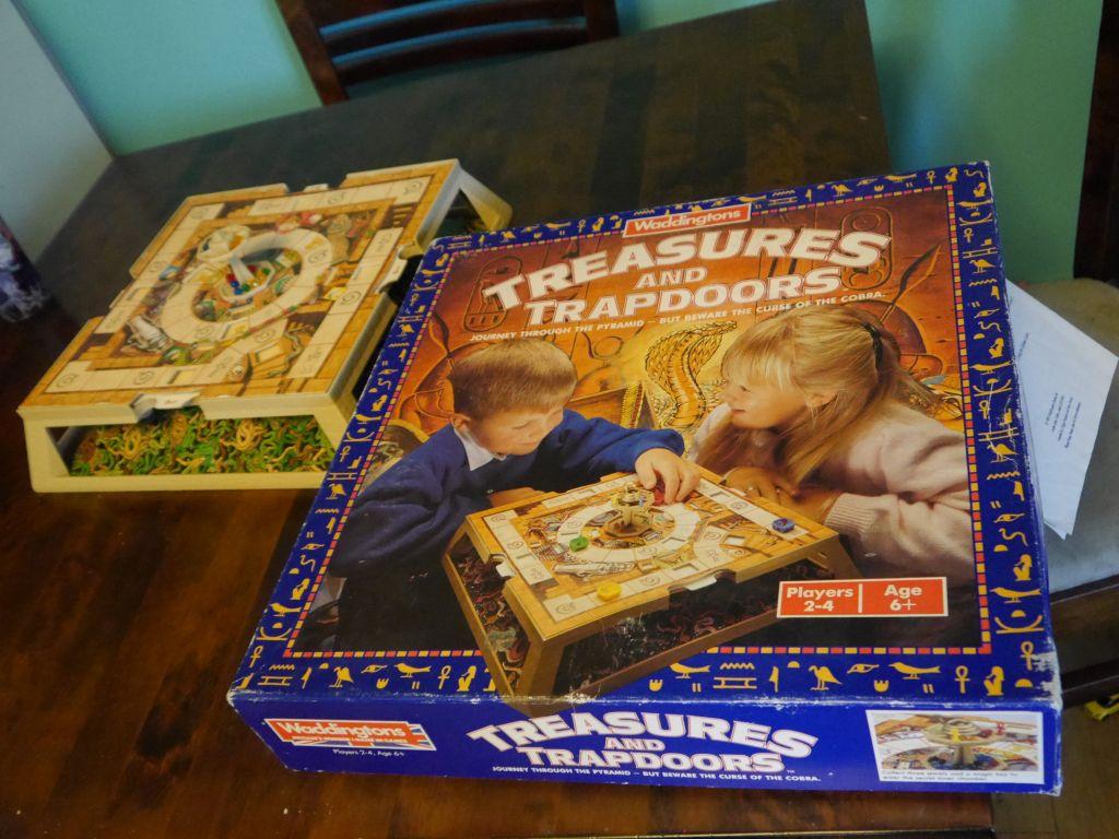 Treasures & Trapdoors Box