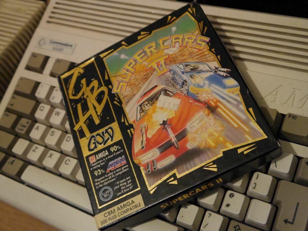 Supercars 2 Box and Amiga