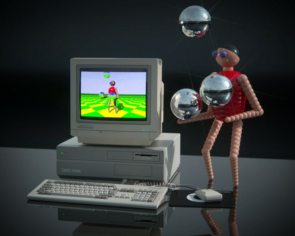 Amiga 2000 render (Thomas Koch)