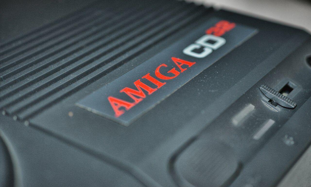 Amiga CD32 Close up