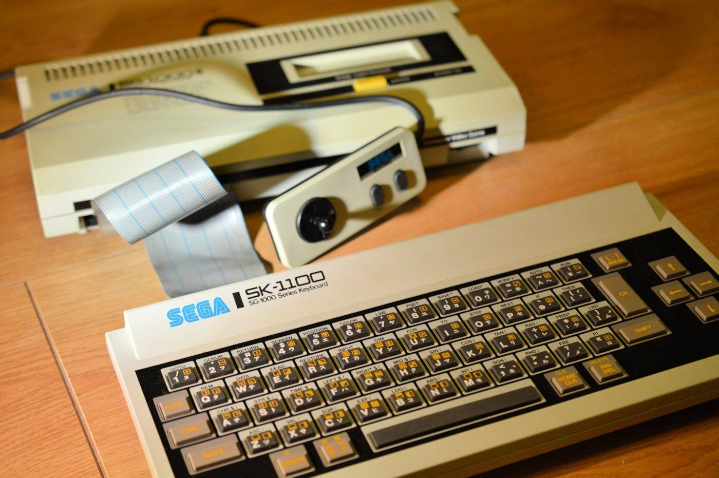 Sega SG1000 II Close Up