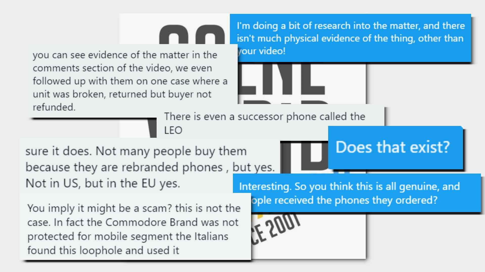Conversation with Scene World where they said they believed it was a legitimate operation