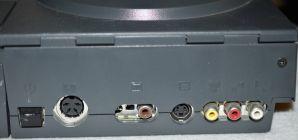 Amiga CD32 Rear Ports