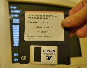 Windows 3.11 setup disk 1