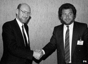 Clive Sinclair and Alan Sugar