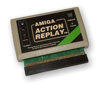 An Action Replay Cartridge