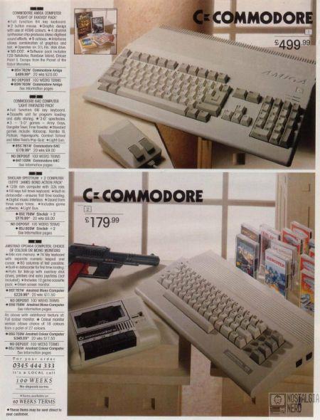 Commodore & Amiga Winter Catalogue