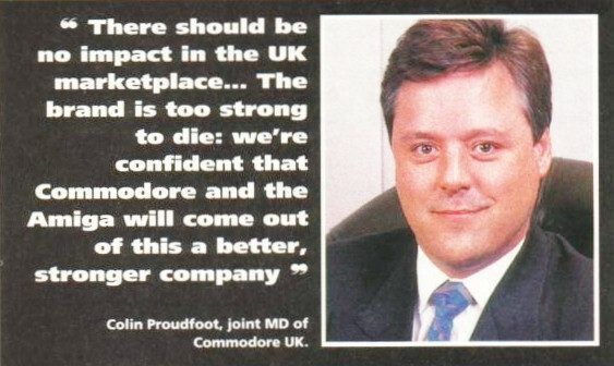 Colin Proudfoot (Joint MD of Commodore UK)