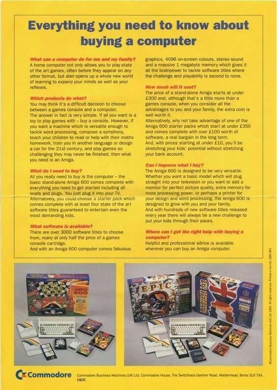 Amiga 600 Bundles