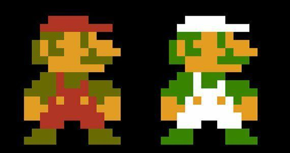 Mario's Mustache