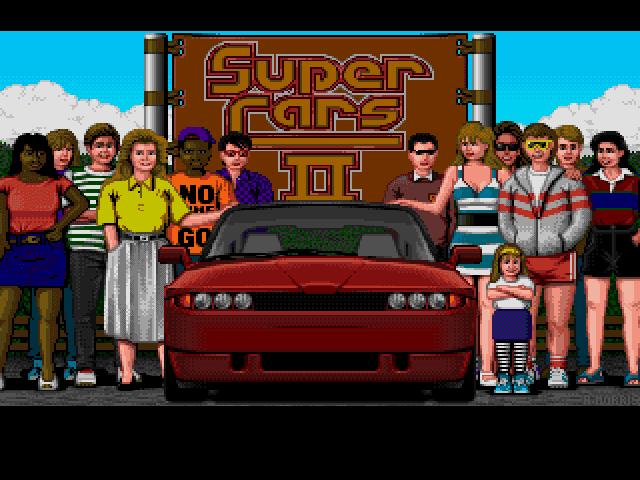 Supercars II Title Screen
