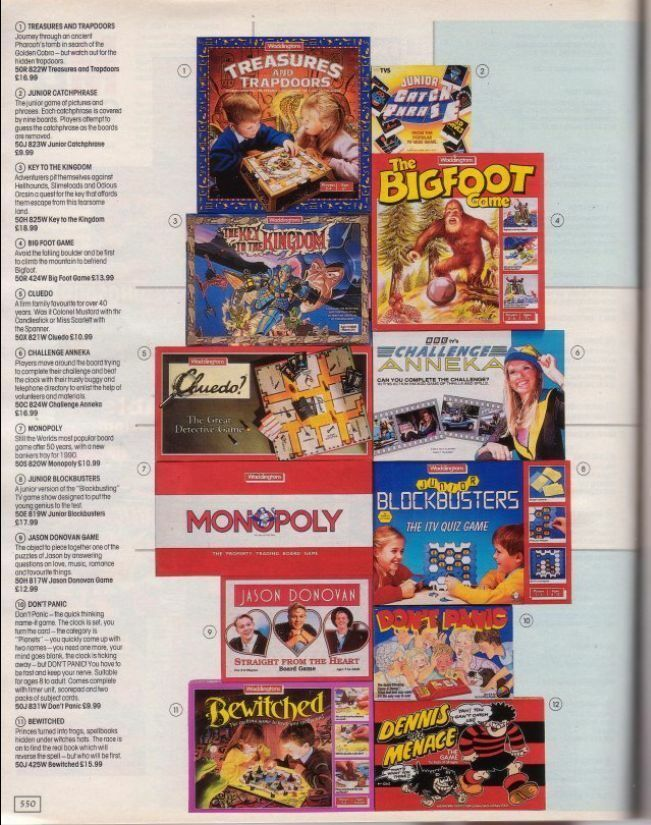 Some '90s Board Games
