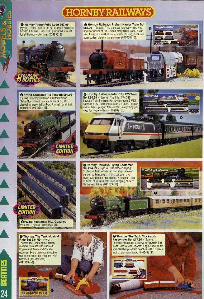1990s Train Sets