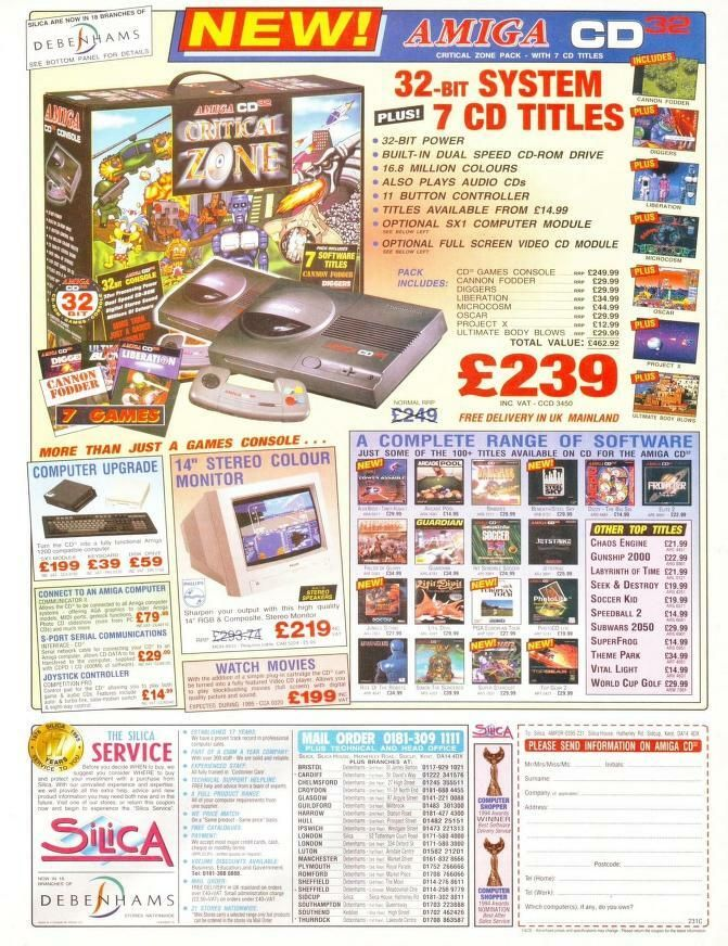 CD32 Advert with Games