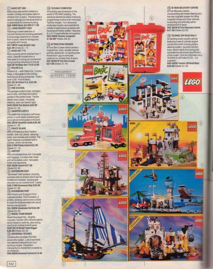1980s Lego Castles