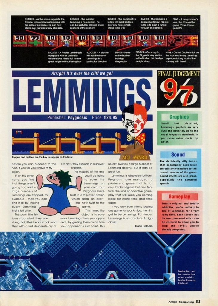 Lemmings Review