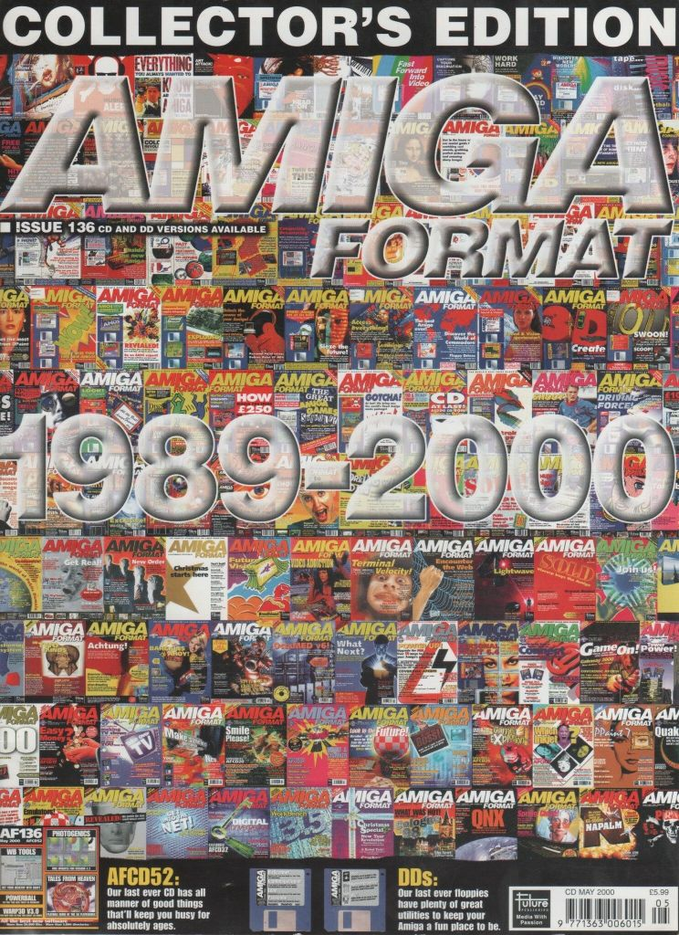 The final issue of Amiga Format