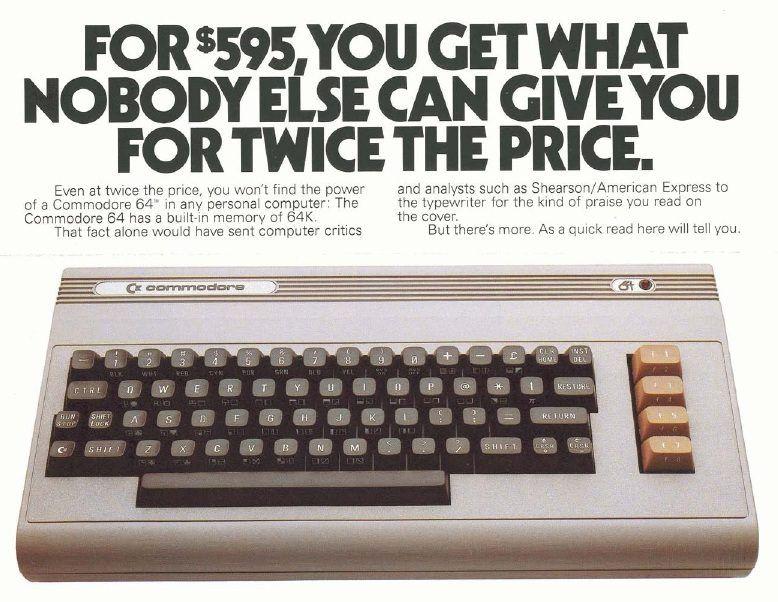Commodore 64 Advert