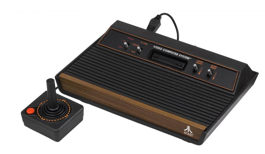 Atari 2600 Woodgrain