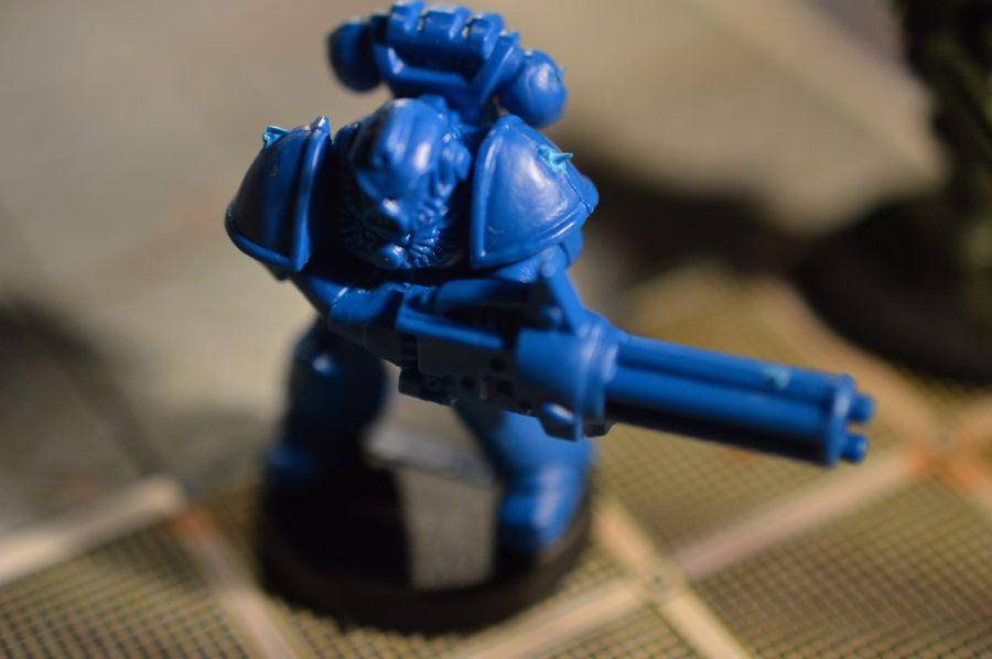 Ultra Marine with Mini Gun