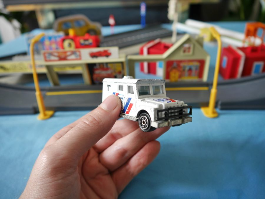 Security Van with some Matchbox Road