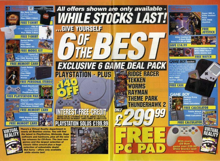 Beaties Christmas Catalogue 1996