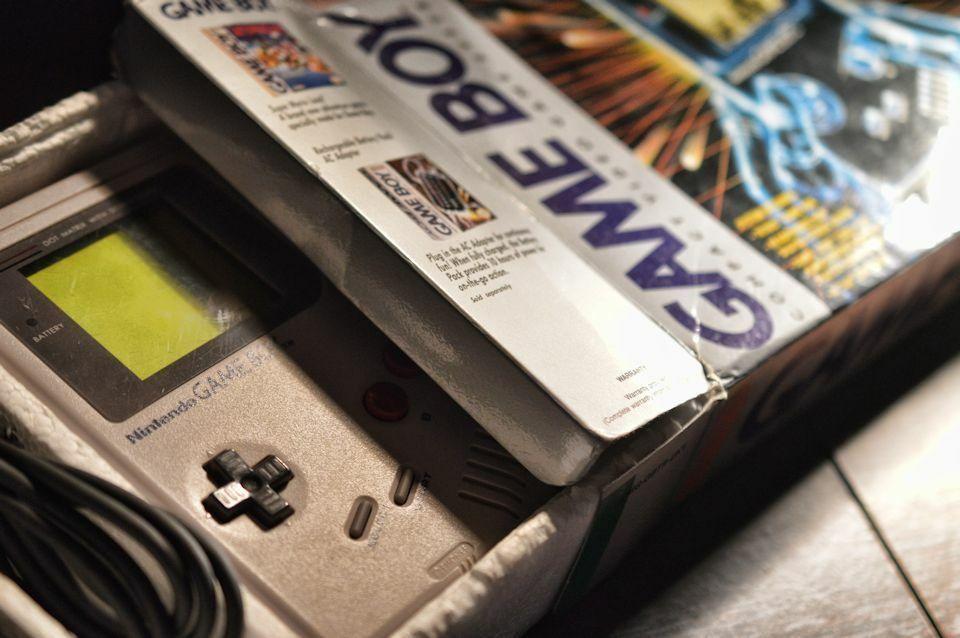 Gameboy Box