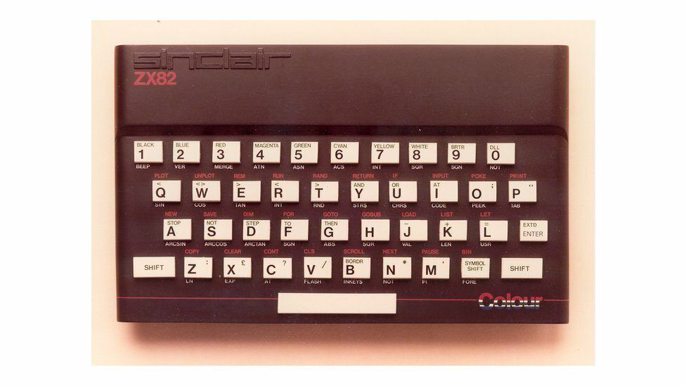 The Zx82 Prototype by Rick Dickinson